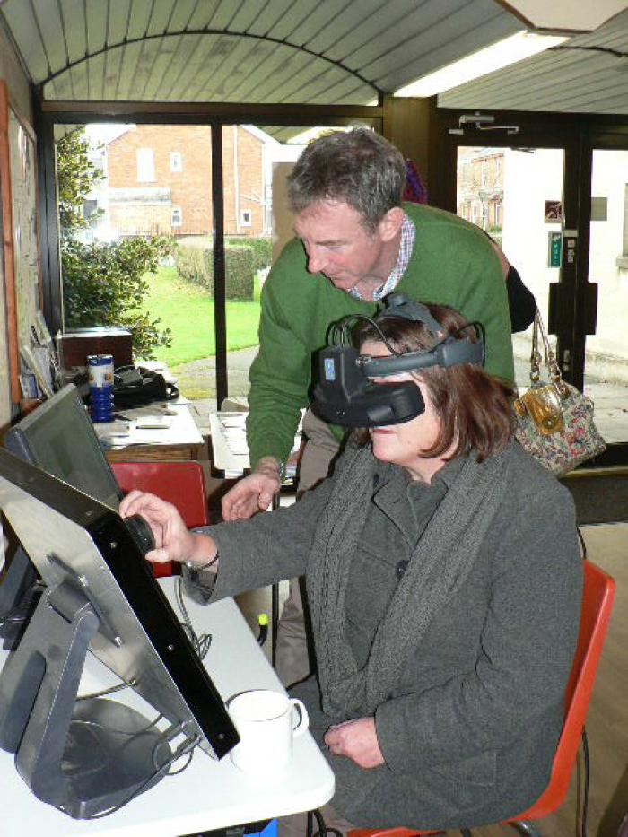 Fundraising by The Gloucestershire Eye Therapy Trust